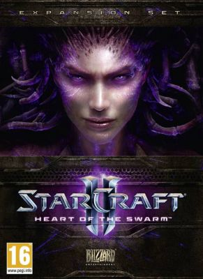 Obal hry StarCraft 2: Hearth of the Swarm