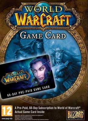 Obal hry World of Warcraft 60 day pre-paid card