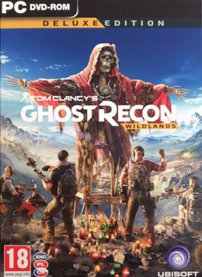 Obal hry Ghost Recon Wildlands Deluxe Edition