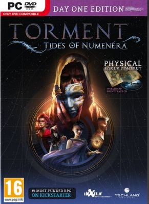 Obal hry Torment: Tides of Numenera (D1 Edition)