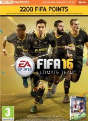 Obal hry FIFA 16 PC 2200 POINTS