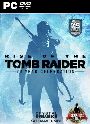 Obal hry Rise of the Tomb Raider 20 Year Celebration