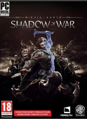 Obal hry Middle-Earth: Shadow of War