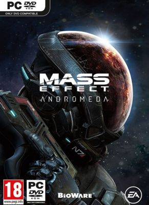 Obal hry Mass Effect: Andromeda