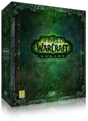 Obal hry World of Warcraft : Legion Collectors Edition