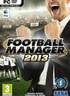Obal hry Football Manager 2013