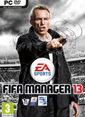 Obal hry FIFA Manager 13