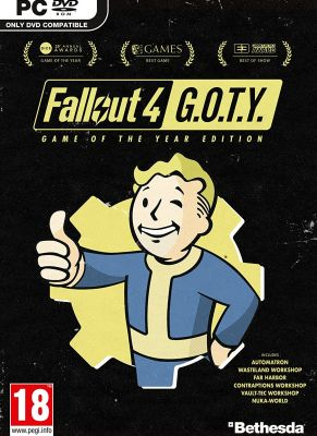 Obal hry Fallout 4 (Game of the Year Edition)