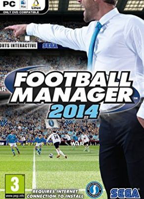 Obal hry Football Manager 2014