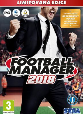 Obal hry Football Manager 2018 Limited Edition
