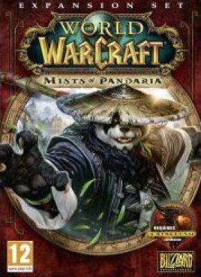 Obal hry World of Warcraft: Mists of Pandaria