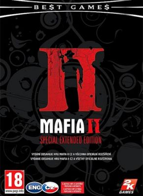Obal hry Mafia 2 Special Extended Edition Black