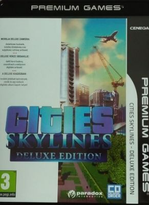 Obal hry Cities Skyline Deluxe Edition
