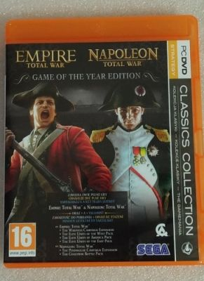 Obal hry Total War: Napoleon+ Empire GOTY