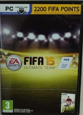 Obal hry FIFA 15 PC 2200 POINTS