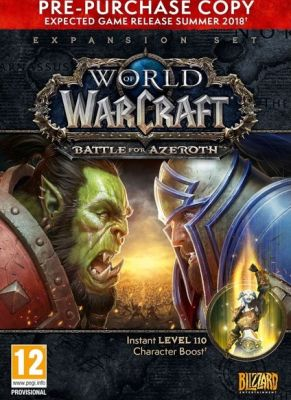 Obal hry World of Warcraft: Battle for Azeroth Pre-Purchase
