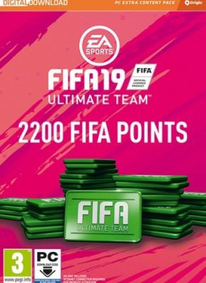 Obal hry FIFA 19 PC 2200 POINTS