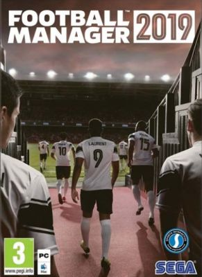 Obal hry Football Manager 2019