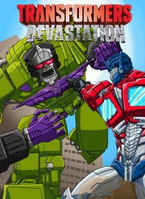 Obal hry Transformers Devastation