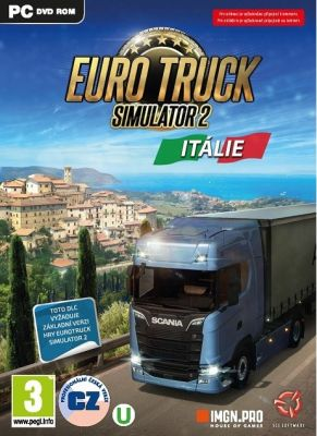 Obal hry Euro Truck Simulátor 2 Italie