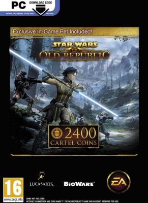 Obal hry Star Wars The Old Republic 2400 Cartel Coins