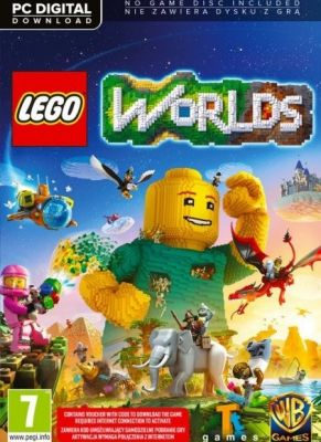 Obal hry LEGO Worlds